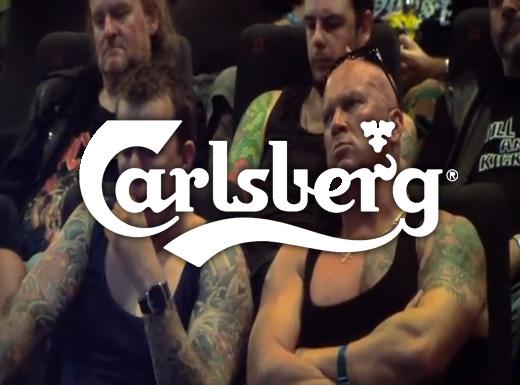 Rolig reklam från Carlsberg