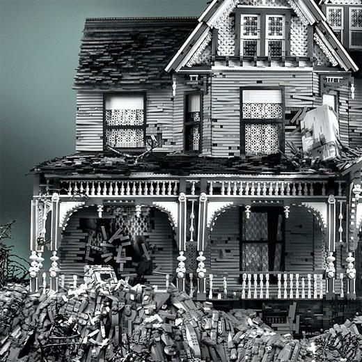 Häftiga hus i Lego