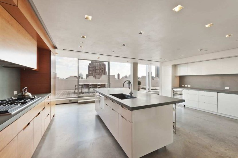 Modren Modern Kitchen Nyc Materika Bg And Design