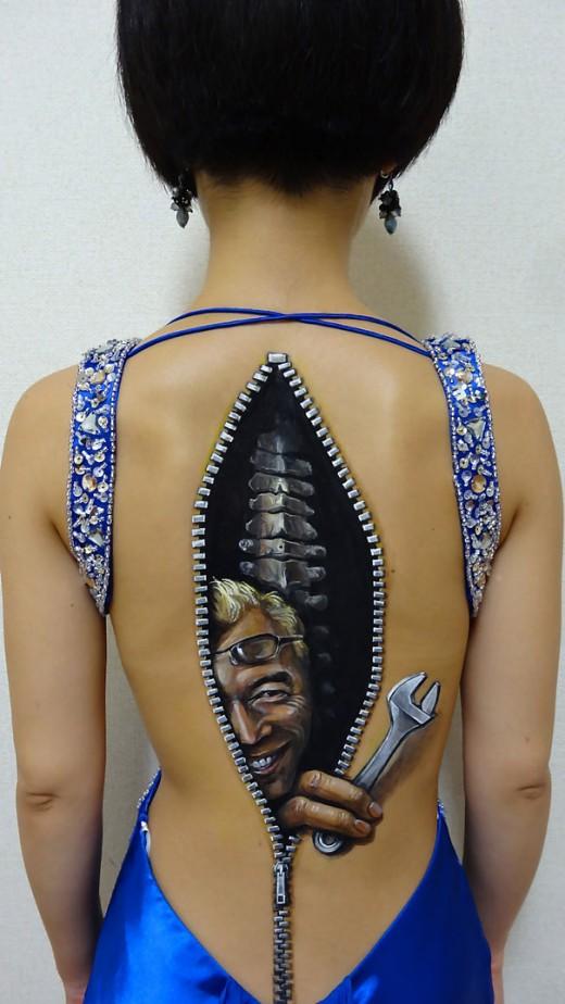 Konst på kropp av Chooo-Sans