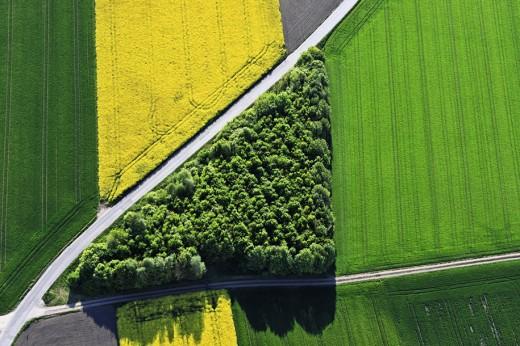Fantastiska flygfotografier av Klaus Leidorf